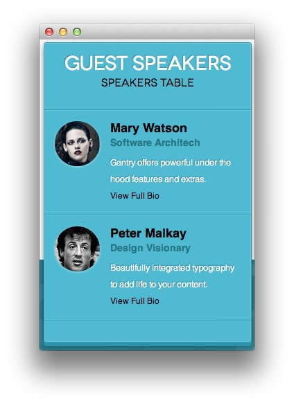 guest speaker template - Template