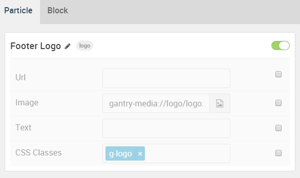 Demo Footer