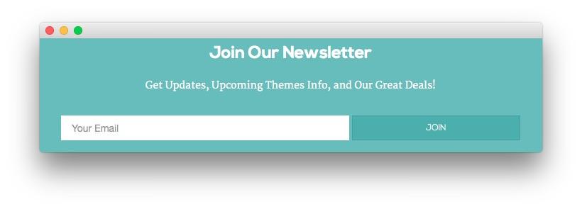 51aa1de21d Custom HTML - Join Our Newsletter