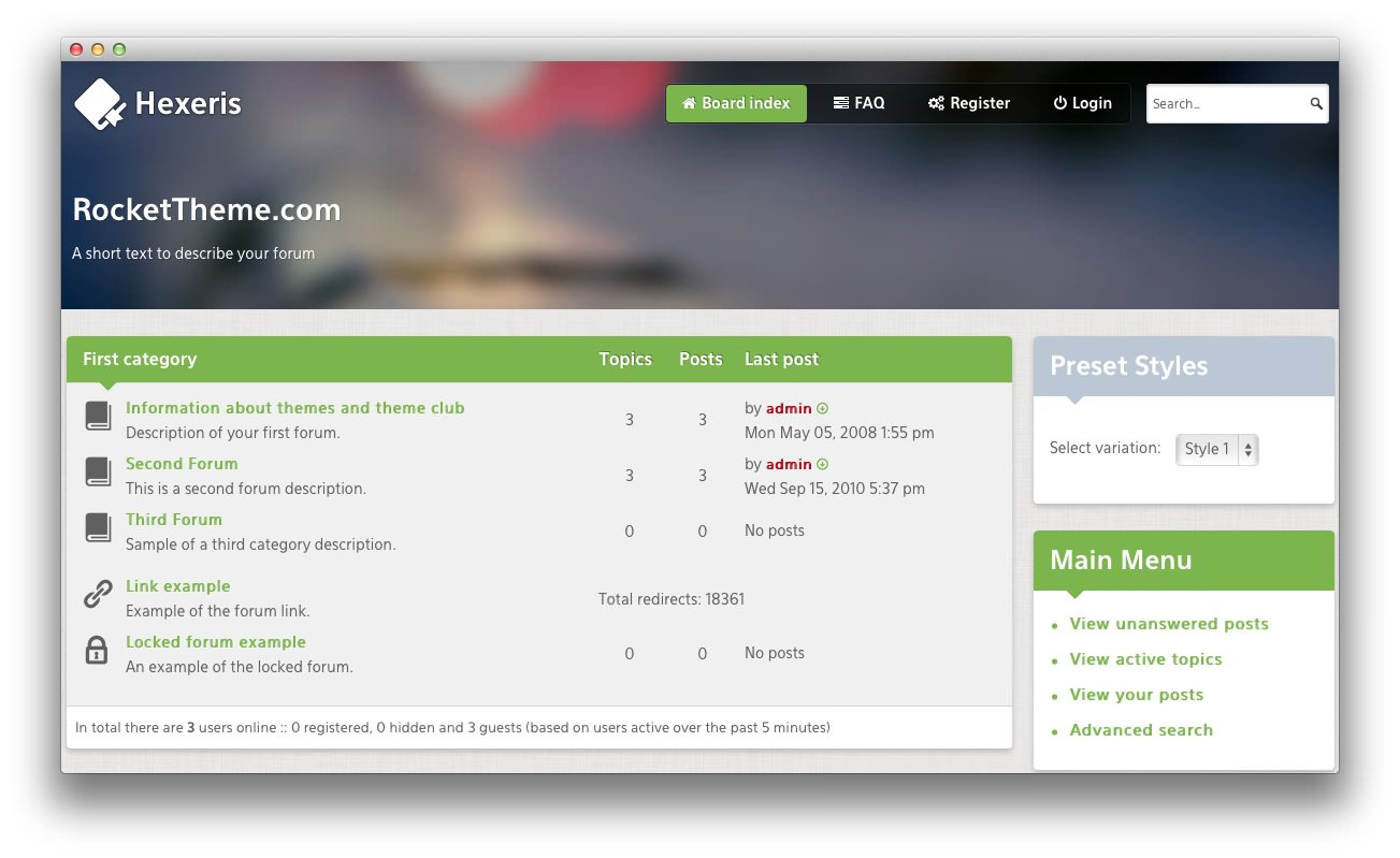 Enormer Klitoris powered by phpbb