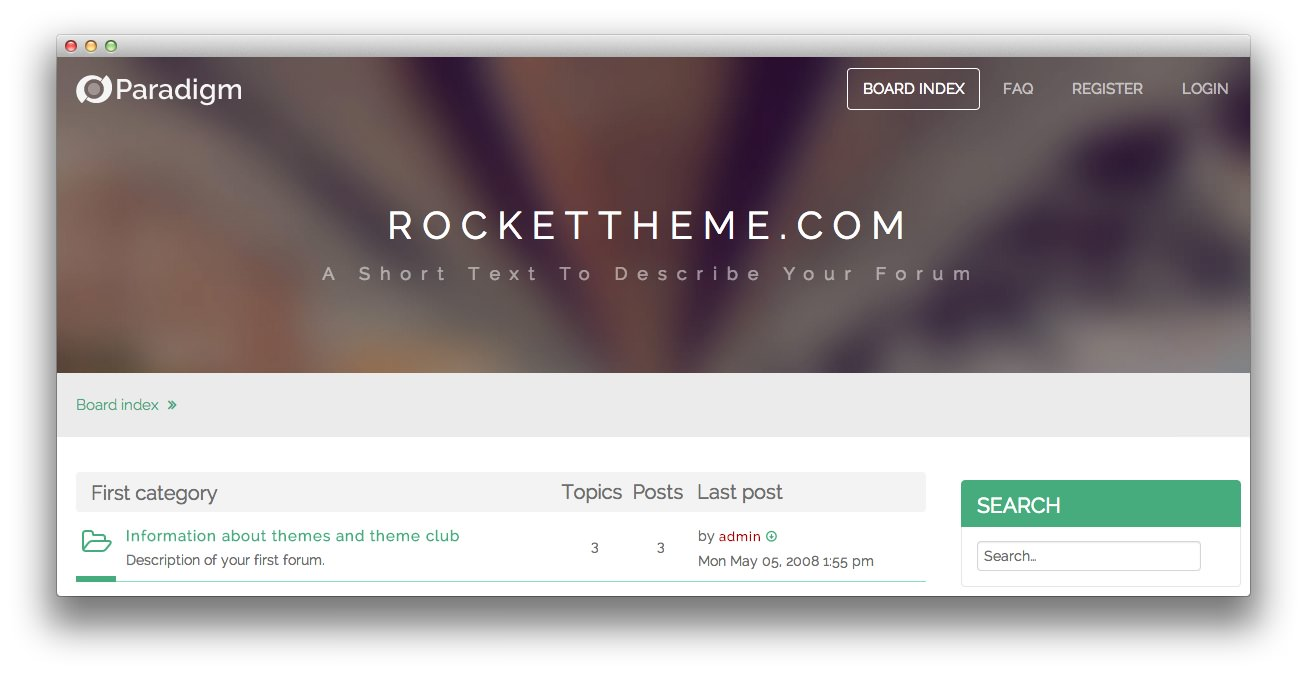 Rockettheme documentation our phpbb style provides the tools you need to setup your forum with ease and provide a great experience to your viewers with its rokbb framework and other maxwellsz