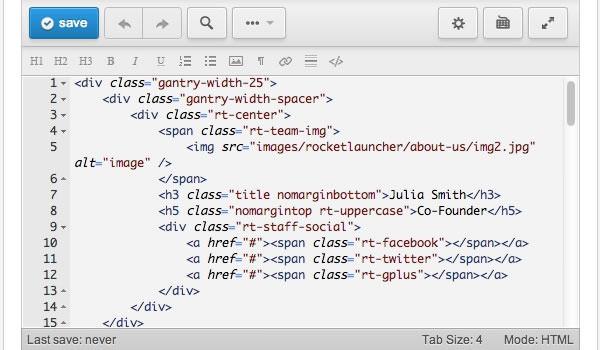Joomla Extensions - RokPad