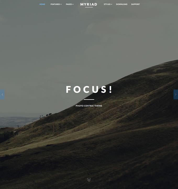 RT Myriad template for Joomla CMS